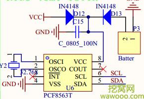 二极管单向导电电路