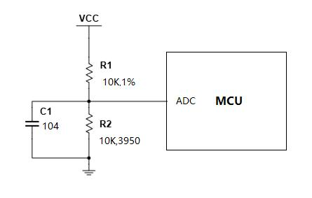 NTC原理图