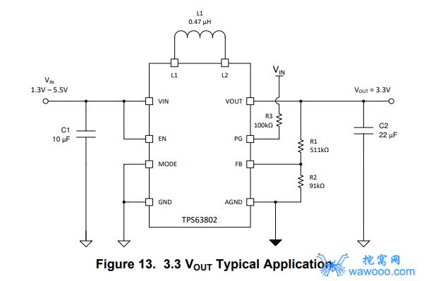 TPS63802应用电路