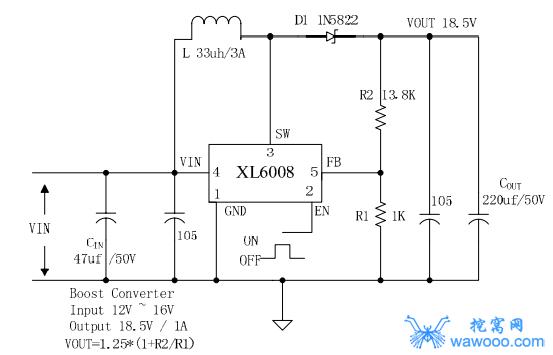 XL6008应用电路